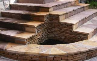 Ступени каменные и материалы для их оформления
