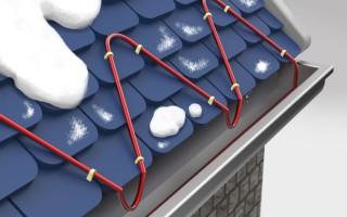 Как предотвратить наледь на крыше