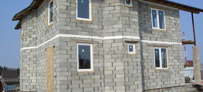 Пеноблок в строительстве