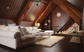 Как можно обустроить мансарду в своем доме