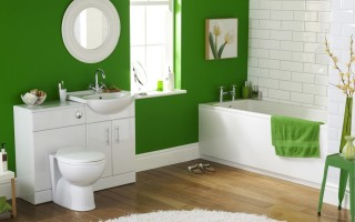 Стены в ванной — плитка или краска