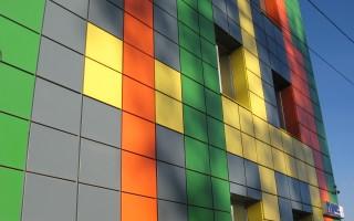 Композитные строительные панели и «вентилируемые фасады» домов.