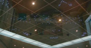 Виды зеркальных потолков